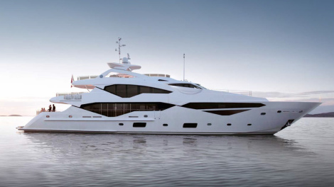 New Launch: Sunseeker 131 Yacht at the London Boat Show 2016