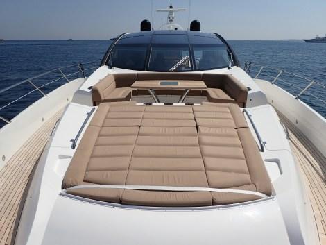 Sunbathing a plenty on board CARTE BLANCHE