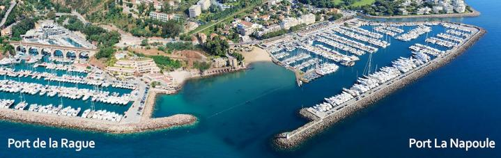 Port La Napoule, South of France, lease period of berths is extended to 2029