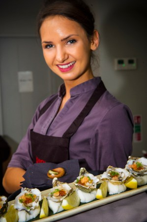 Guests enjoyed a selection of Asian inspired canapés from Novikov, London, W1