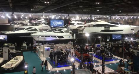Sunseeker Malta was represented by Cassidy Woods during the London International Boat Show 2016