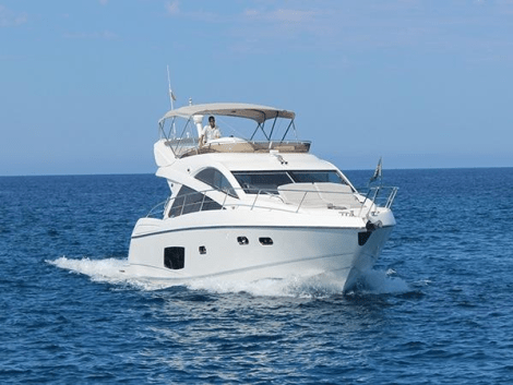 The Sunseeker Manhattan 53 BEST OF ME is the ideal family boat for sale during a great time to purchase as the season gets underway in the centre of the Balearic boating world
