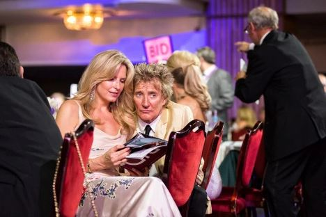 Rod & Penny Stewart, Ambassadors of Caudwell Children (Credit Wes Webster Photography)