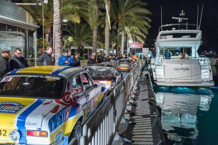 Sunseeker Mallorca takes Pole Position at the annual XXI Oris Classic Car Rally in Puerto Portals, Mallorca