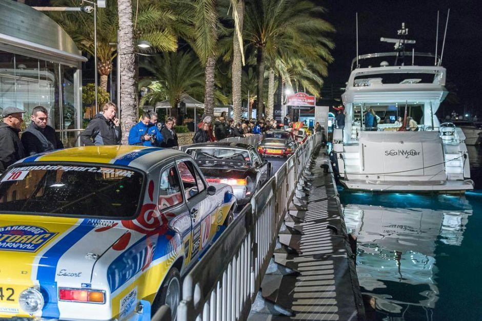 Sunseeker Mallorca takes Pole Position at the annual XXI Oris Classic Car Rally in Puerto Portals, Mallorca