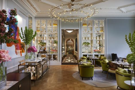 The Rosebery Lounge at The Mandarin Oriental Hyde Park