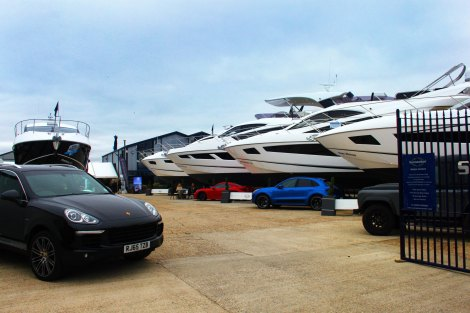 The Cayman, Maccan and Cayenne alongside our San Remo, Manhattan 55 & 65 and 68 Sport Yacht