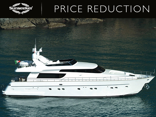 PRICE REDUCTION – SAN LORENZO 72 'MAJOLA' NOW €1,990,000EUR EX VAT