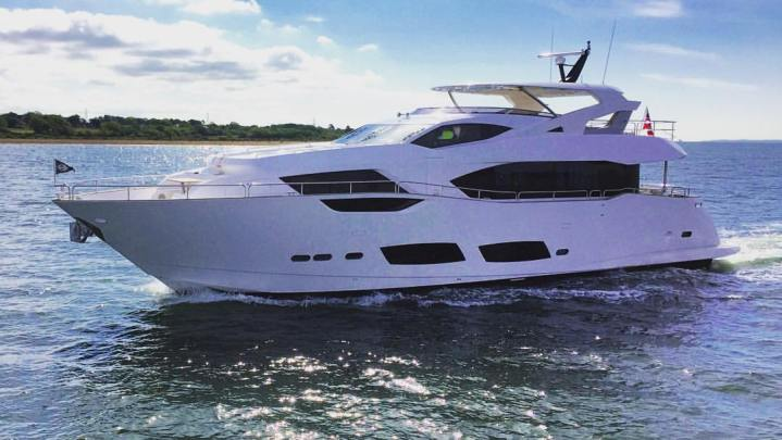 SUNSEEKER'S FIRST 95 YACHT DISPLAYED AT THE BRITISH MOTOR YACHT SHOW – Take the 360 Degree tour of the yacht here
