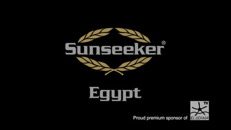 Sunseeker Egypt becomes the premium sponsor of Orascom Hotels and Developments new TV channel El Gouna TV