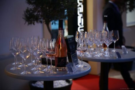 During the drinks reception, Cyprus Food & Wine Club had arrange a tasting of an exclusive rosé wine