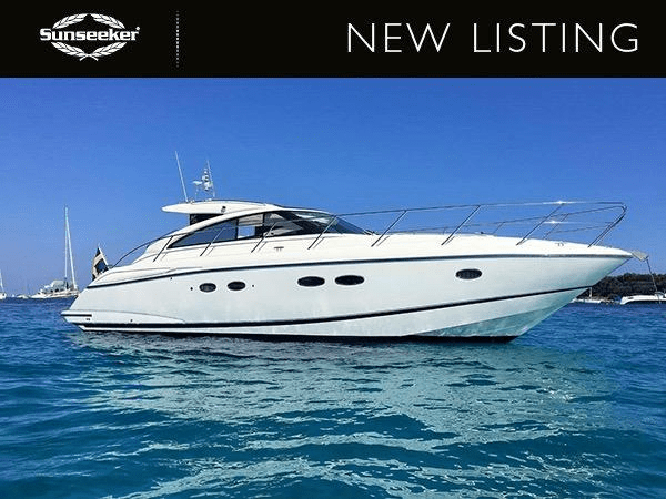 NEW LISTING: Sunseeker France Group announce the Princess V45 'BREEZE'