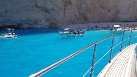 Beautiful Greek waters attract Sunseeker owners from around the world