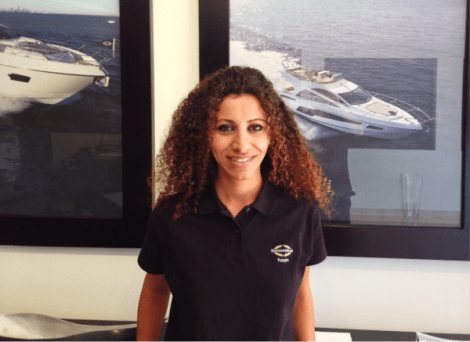 """<a href=""""http://www.sunseekeregypt.com/"""" target=""""_blank"""">Sunseeker Egypt</a>'s recently appointed sales office administrator, <a href=""""http://www.sunseekeregypt.com/our-company#page/DistributorPersonnel"""" target=""""_blank"""">Mary Ibrahim</a>"""
