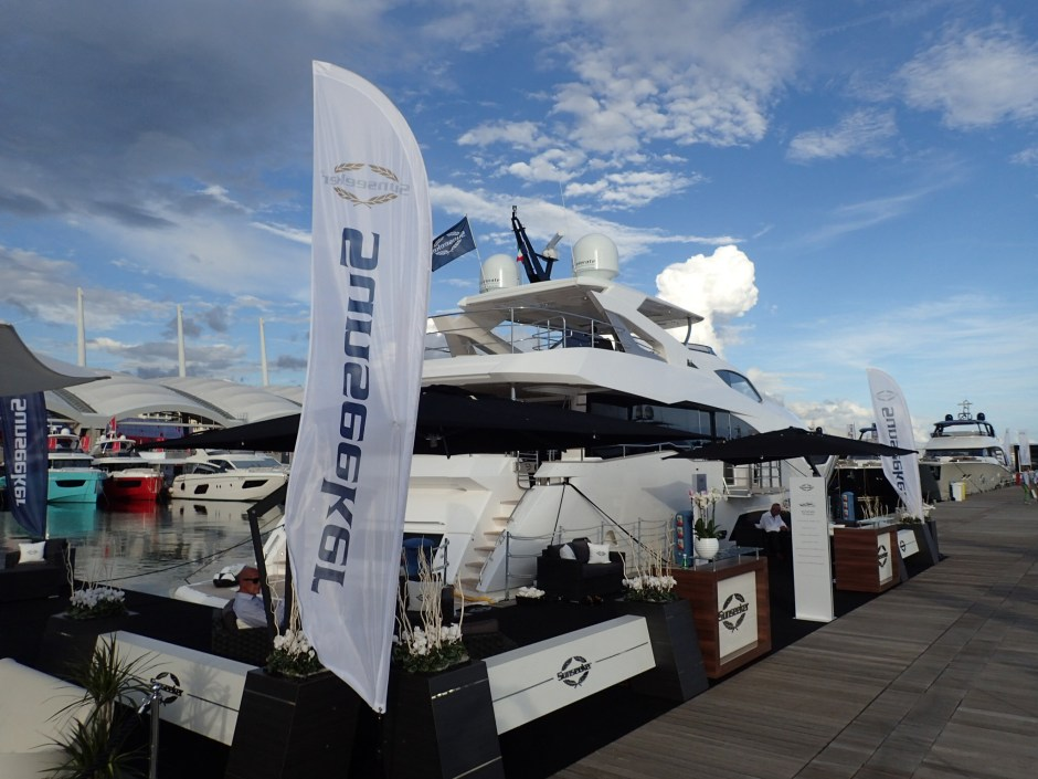 BOAT SHOW: Sunseeker France Group and Sunseeker Monaco are pleased to be back at the Genoa Boat Show