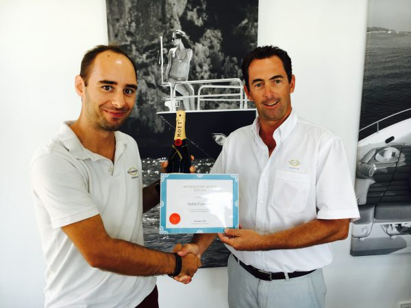 SUNSEEKER MALLORCA BROKER WINS 'BROKER OF THE MONTH AWARD' IN RECORD TIME