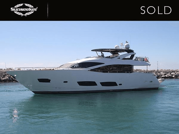 BROKERAGE: Sunseeker Portugal announce the successful completion of the Sunseeker 28 Metre Yacht 'THIS TIME NEXT YEAR'