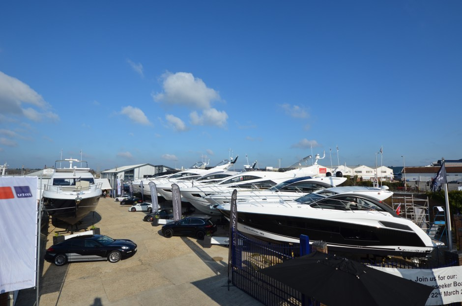 BOAT SHOW: Sunseeker Pre-Season Boat Show is only a month away!