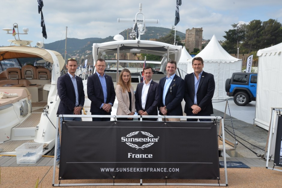 BOAT SHOW: Sunseeker France attend the Mandelieu La Napoule Boat Show