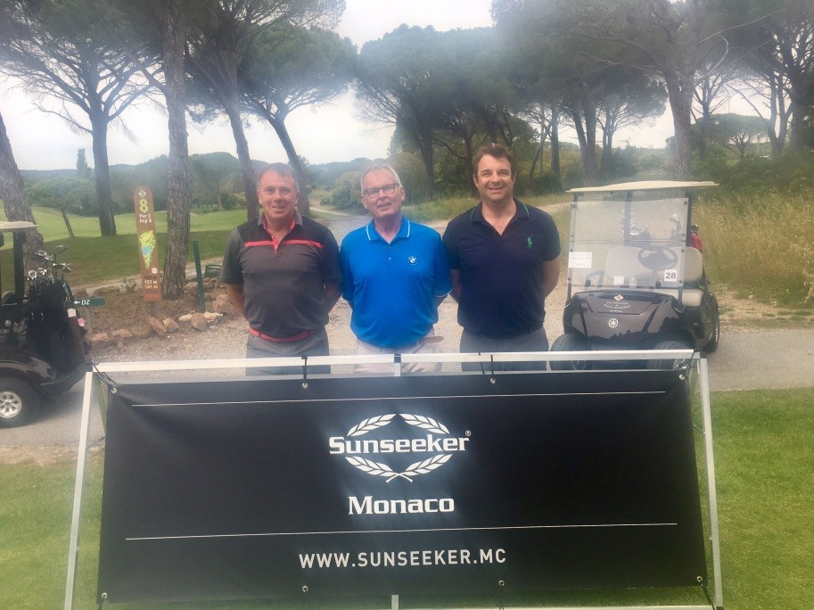 GOLF: Sunseeker France and Sunseeker Monaco sponsor a charity golf event in the South of France
