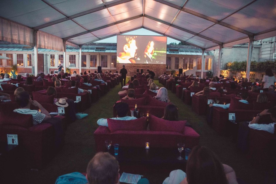 LIFESTYLE: Rick Stein 'pops up' to create his own Sunset Cinema at the Chewton Glen Hotel