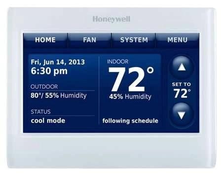 Honeywell - WiFi Thermostat - Prestige IAQ