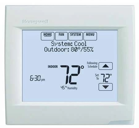 Honeywell Thermostats - VisionPRO 8000 - Programmable Thermostat