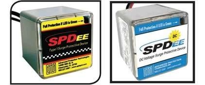 spdee - spdee dc - hard wired point of use protector - surgeassure
