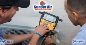 Sunset Air and Home Services - AC Repair Fort Myers FL- Aliston and Frankie - 600 x 315