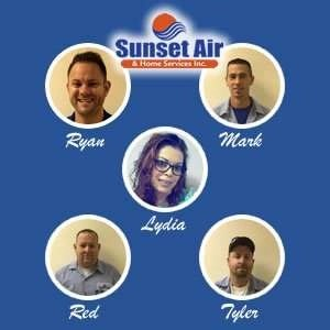 Replacement Department Team Photo - AC Replacement - Fort Myers FL - Sunset Air and Home Services - 239-693-9005 - 300 x 300