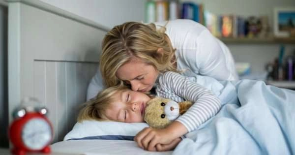tucking in child to bed –AC Maintenance Agreement - Fort Myers - Sunset Air & Home Services