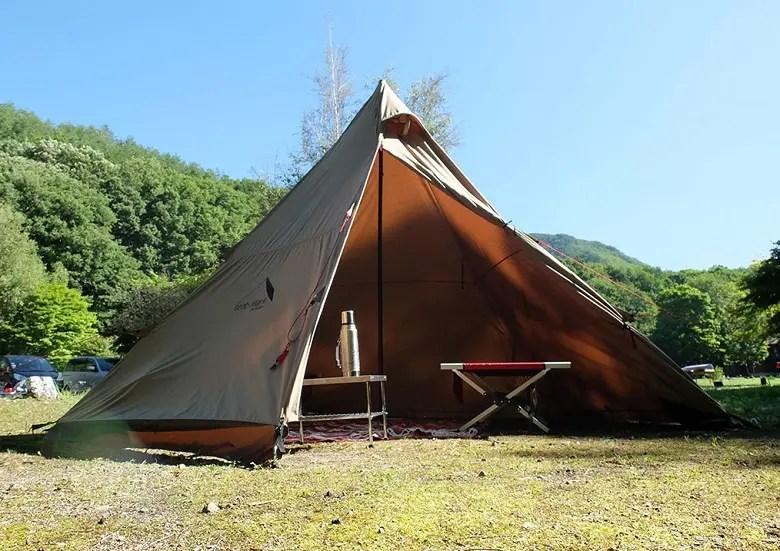 テンマクデザインのポリコットンのテントで焚き火を楽しもう!~サーカスTCとパンダTCの魅力~