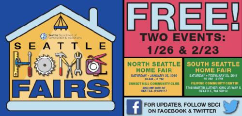 North Seattle Home Fair 1/26/19