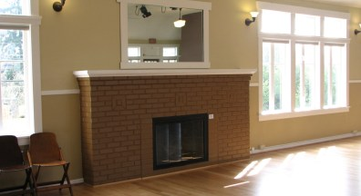 Fireplace in Upper Hall