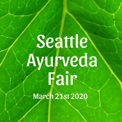 Ayurveda Fair POSTPONED to 10/17/20