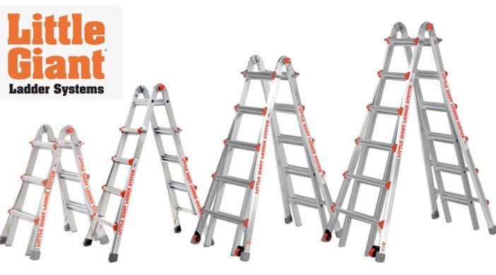 how to compare the cost of little giant ladders