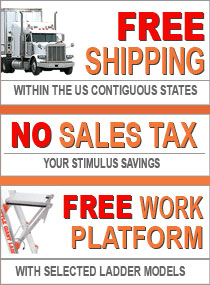 free shipping and no sales tax on little giant ladders