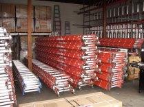 sunset ladder inventory of fiberglass extension ladders