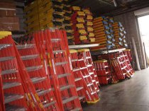 sunset ladder inventory of fiberglass ladders