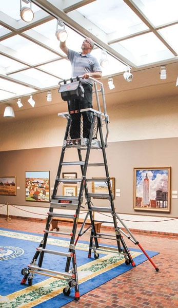 Why Little Giant Cage Ladders Are The Safest Ladders