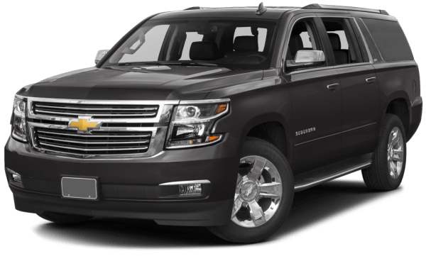 2016 Chevy Suburban sunset limo suv