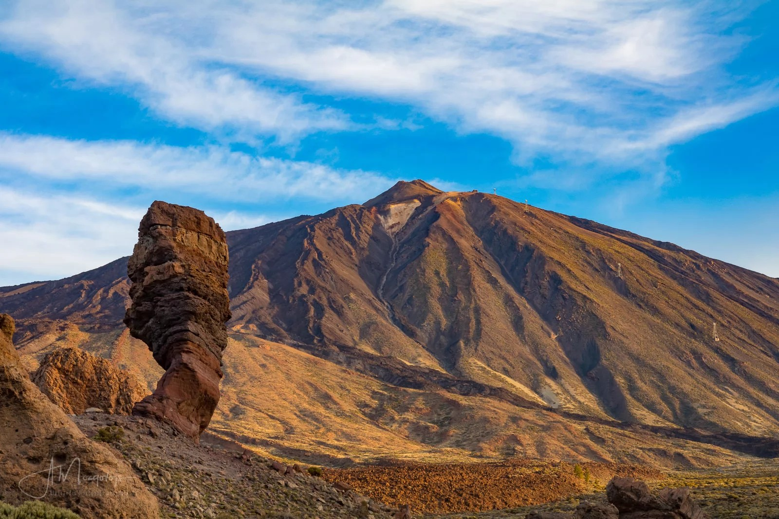 Classic View of Teide