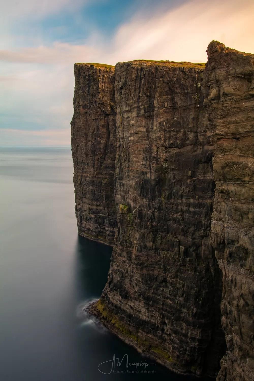The cliff of Trælanípa
