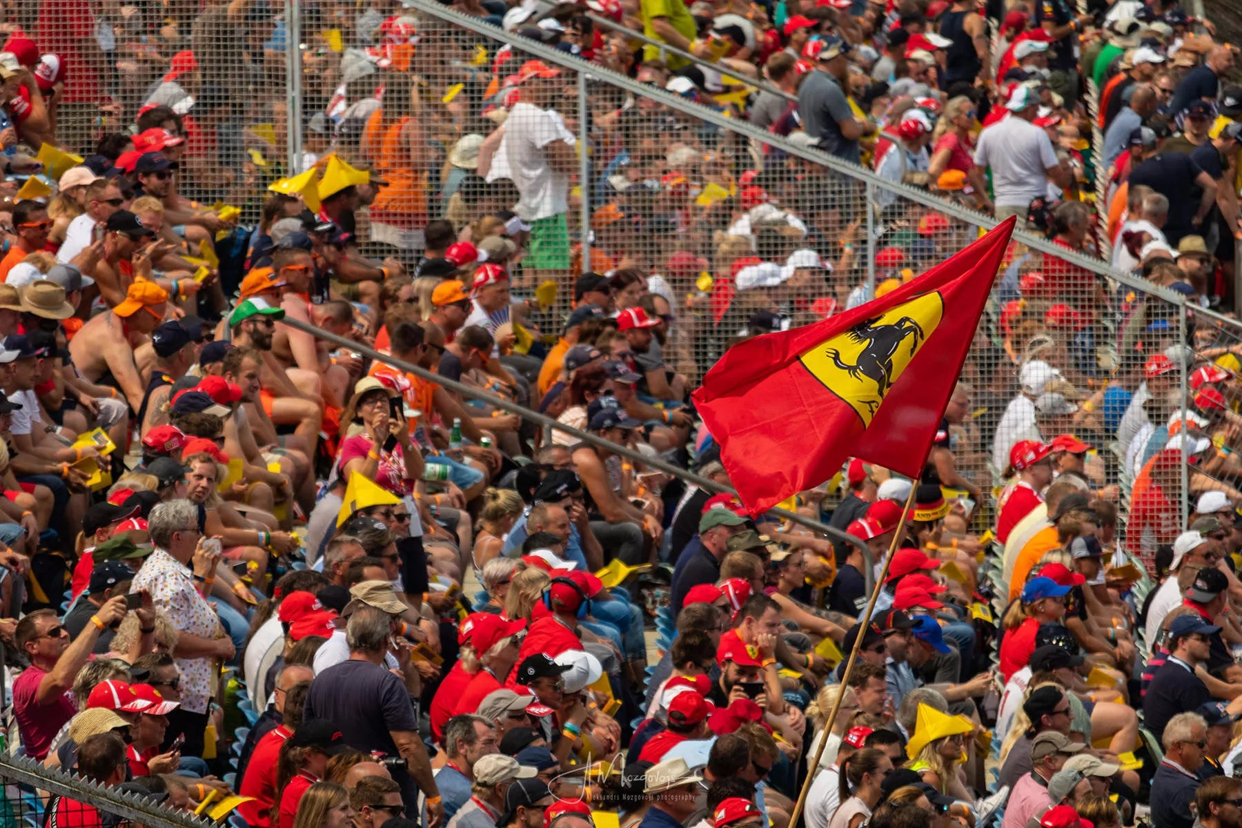 Fans at Hockenheim Grand Prix