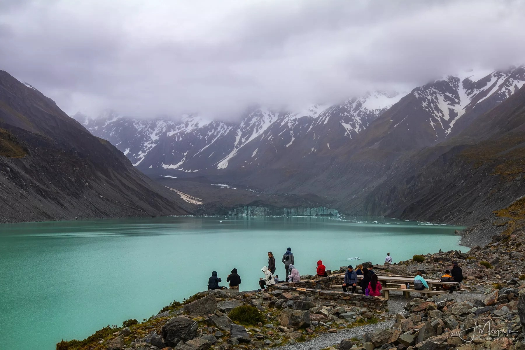 Hooker Lake overlook
