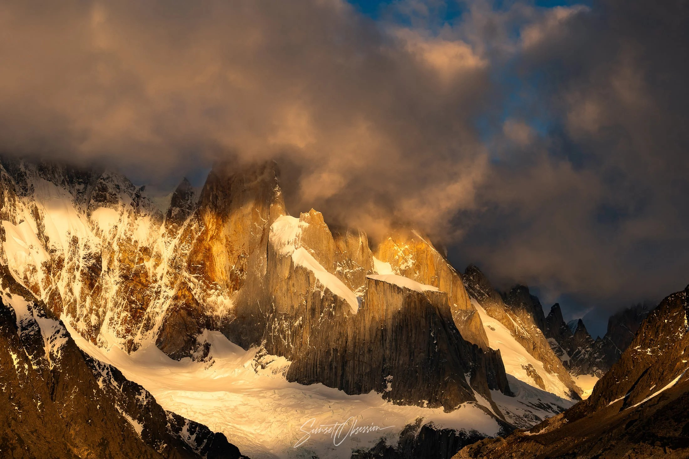 Mountains around El Chalten provide plenty of opportunities for landscape photography