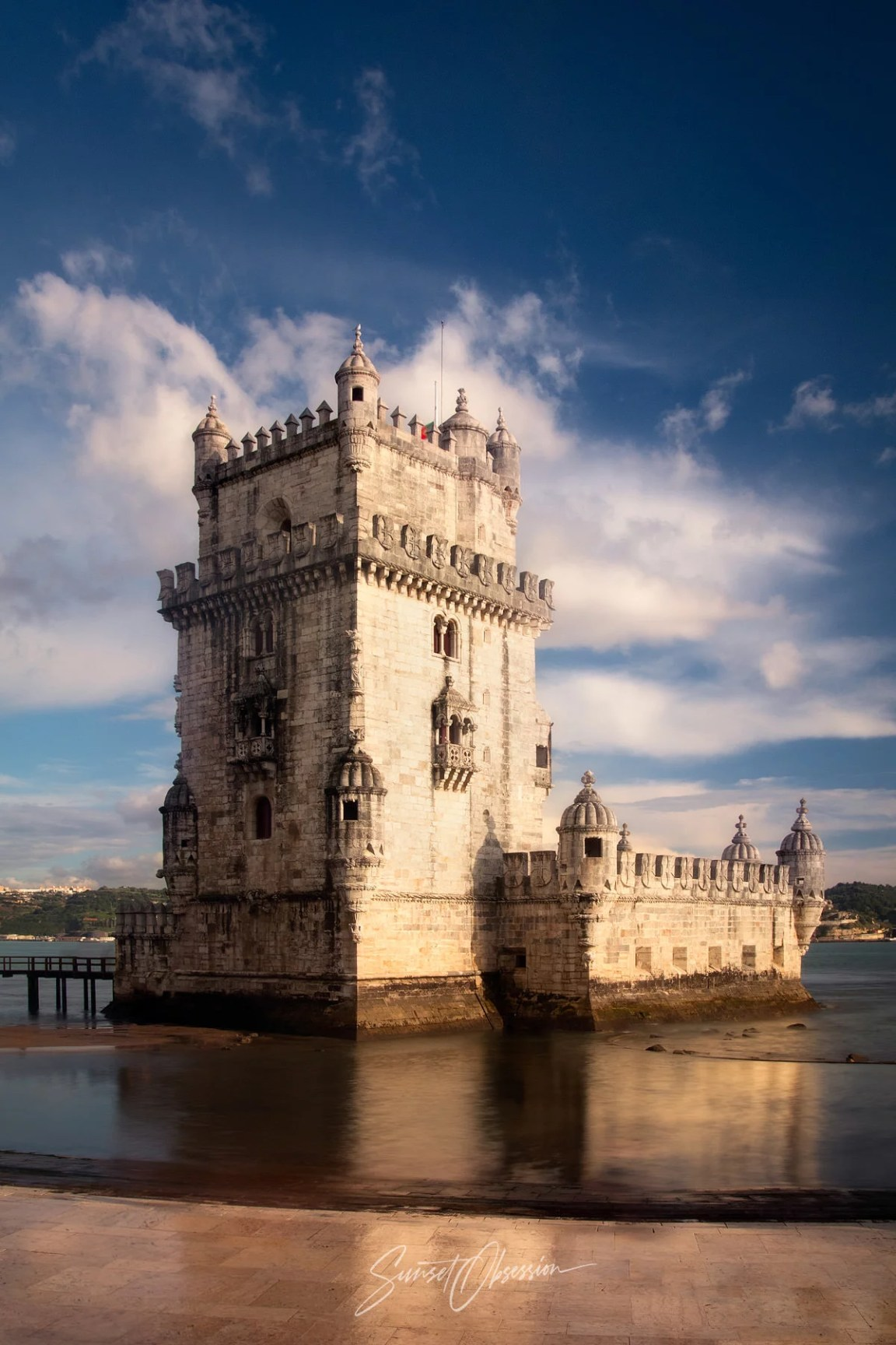 Tower of Belem is one of the more famous locations in our Lisbon photography guide