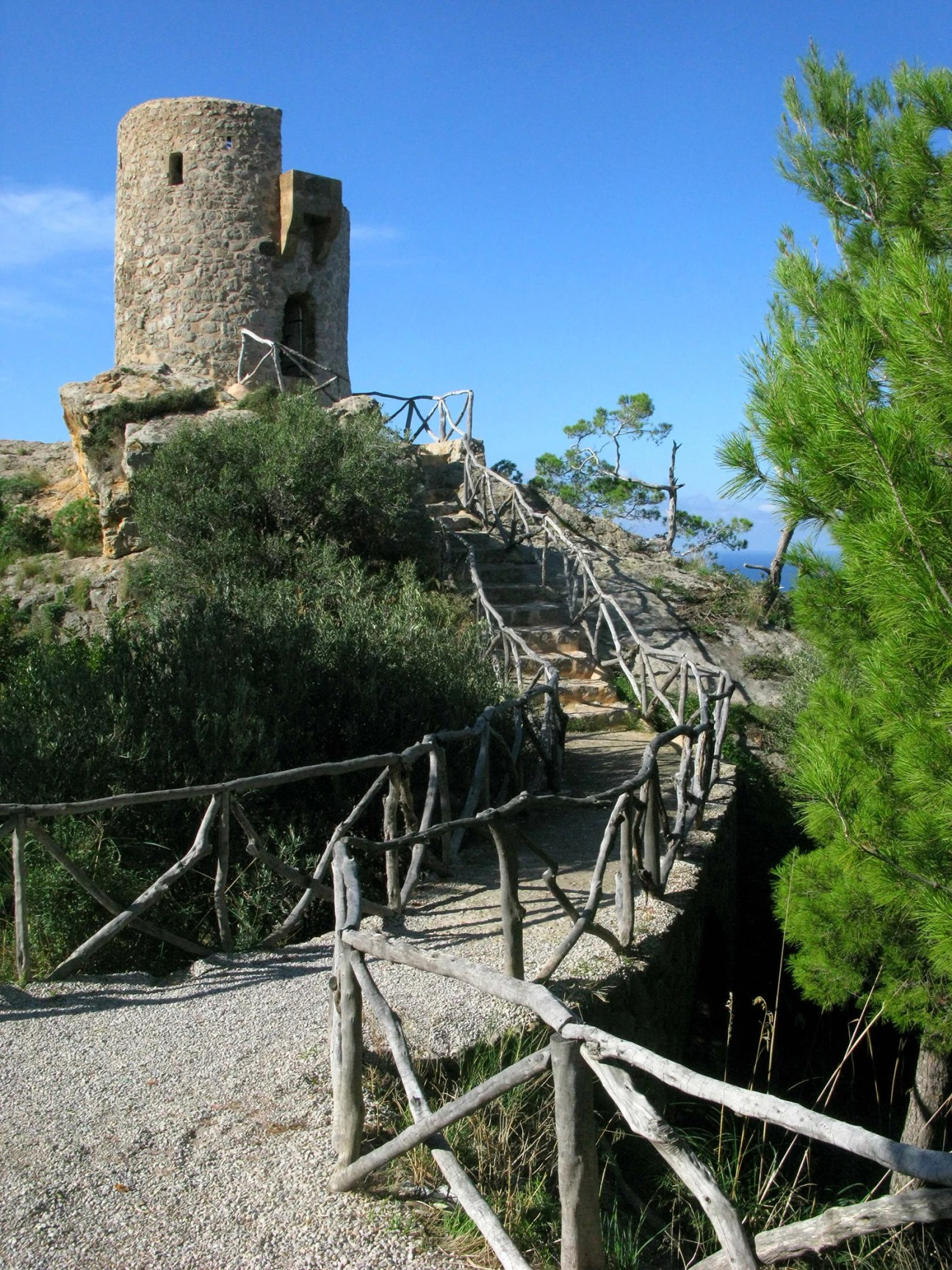 Torre del Verger is an old watch tower from the pirate days of Mallorca