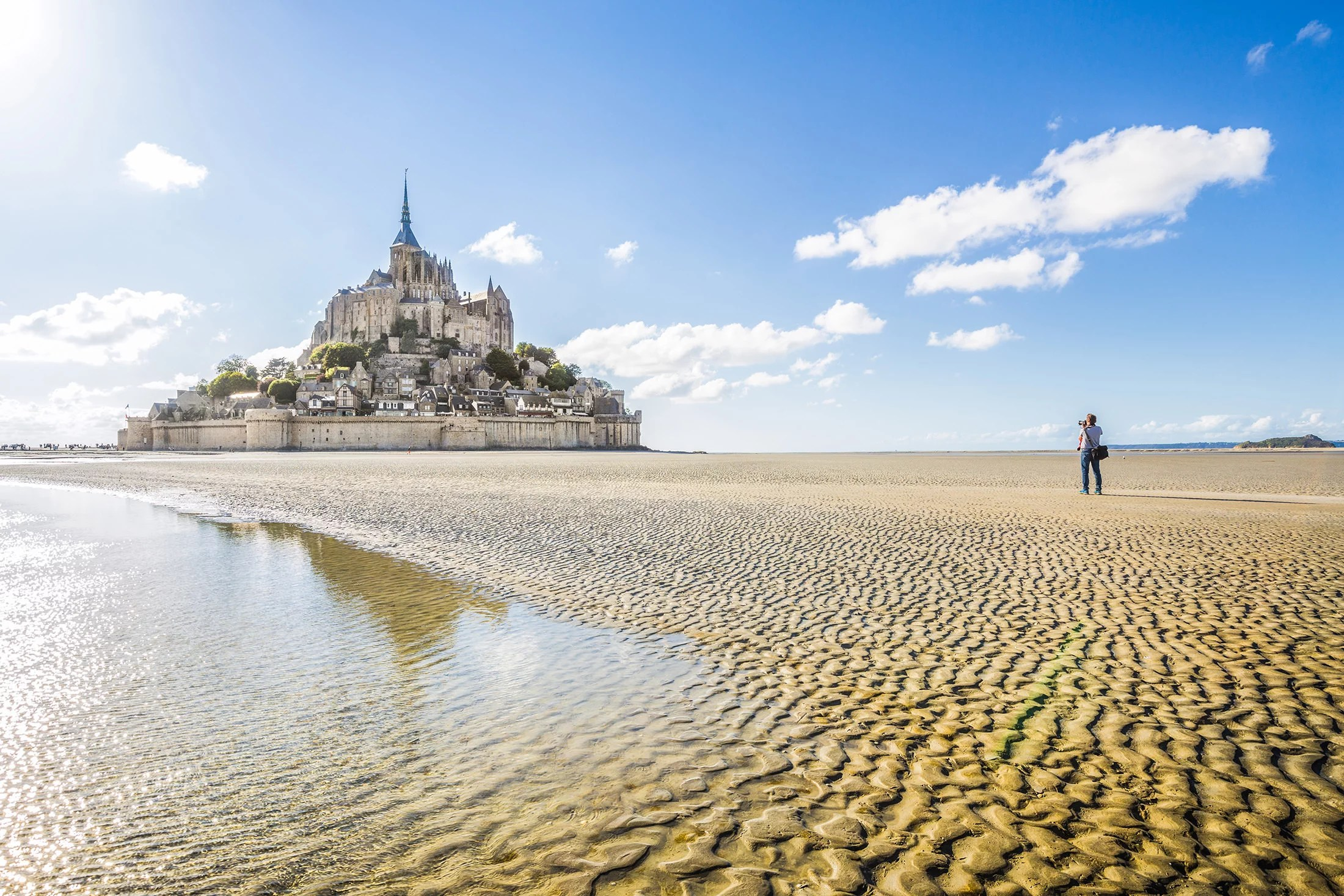 Meet the incredible Mont Saint-Michel!
