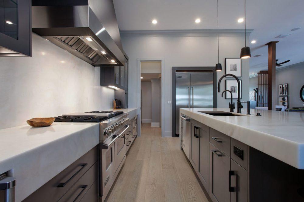 Davis Islands South Tampa Waterfront Kitchen Quartzite Counter